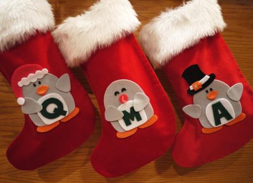 Handmade Stockings!